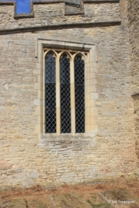 Yelden - St Mary. South aisle, east window.