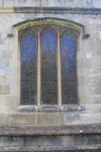 Eaton Bray - St Mary the Virgin. North chapel, north window.