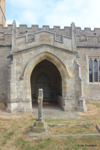 Yelden - St Mary. South porch.