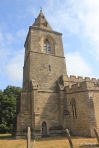 Yelden - St Mary. Tower from the south.