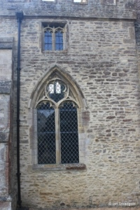 Yelden - St Mary. North side, western window.