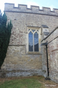 Yelden - St Mary. Chancel, north-east window.