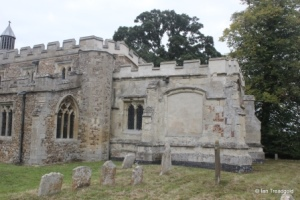 Eyeworth - All Saints. Chancel from the south.