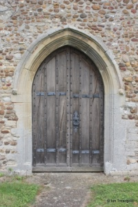 Eyeworth - All Saints. South doorway.