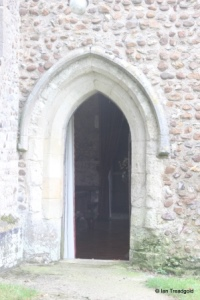 Eyeworth - All Saints. North doorway.