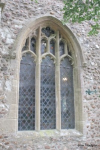 Eyeworth - All Saints. North window.
