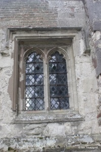 Eyeworth - All Saints. Chancel north window.