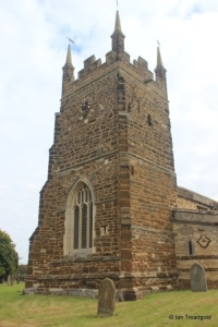 Everton - St Mary. Tower from the south-west.