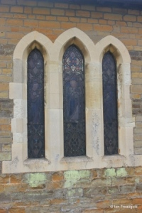 Everton - St Mary. North aisle eastern window.