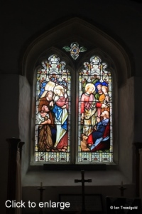 Everton - St Mary. South aisle east window internal.