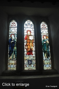 Everton - St Mary. South aisle western window internal.