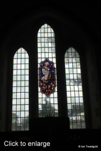Everton - St Mary. East window internal.