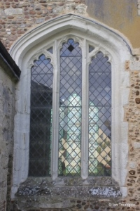 Edworth - St George. Nave north window.