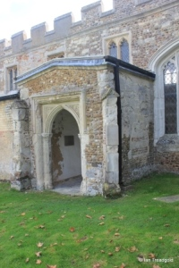 Edworth - St George. North porch.
