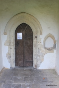 Edworth - St George. North doorway.