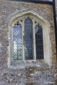 Edworth - St George. Chancel, north window.