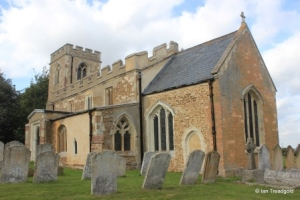 Edworth - St George. View from the south-east.