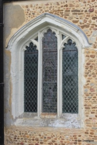Edworth - St George. Chancel south window.