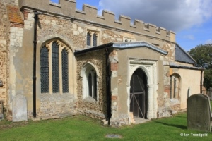 Edworth - St George. South porch.