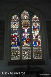 Edworth - St George. East window internal.