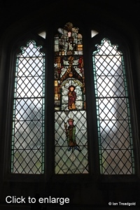 Edworth - St George. Chancel south window, internal.