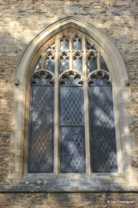 Elstow - St Mary and St Helena. South aisle, eastern window.