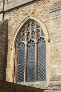 Elstow - St Mary and St Helena. South aisle, western window.