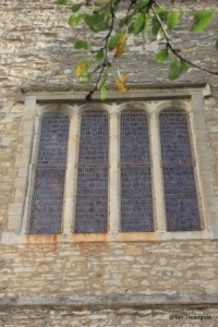 Elstow - St Mary and St Helena. Main west window.