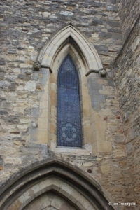 Elstow - St Mary and St Helena. North-west window.