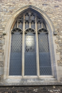 Elstow - St Mary and St Helena. North aisle, western window.