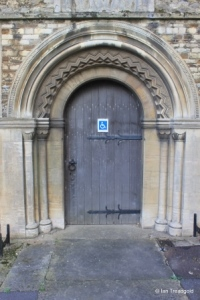 Elstow - St Mary and St Helena. North doorway.