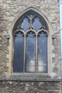 Elstow - St Mary and St Helena. North aisle, north-western window.