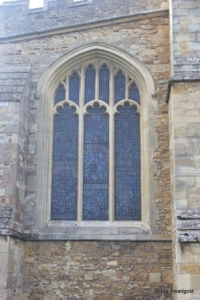 Elstow - St Mary and St Helena. South aisle, east window.