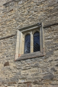 Elstow - St Mary and St Helena. Tower window.