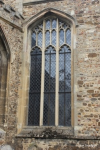 Eaton Socon - St Mary the Virgin. Chancel, south-west window.