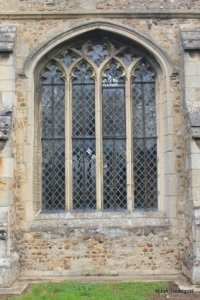Eaton Socon - St Mary the Virgin. South aisle window.