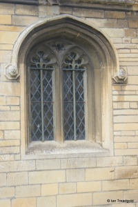 Eaton Socon - St Mary the Virgin. South porch window.