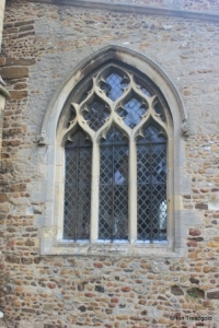 Eaton Socon - St Mary the Virgin. South aisle, west window.