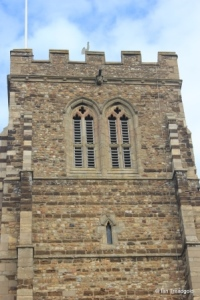 Eaton Socon - St Mary the Virgin. Tower belfry openings.