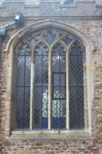 Eaton Socon - St Mary the Virgin. North aisle window.