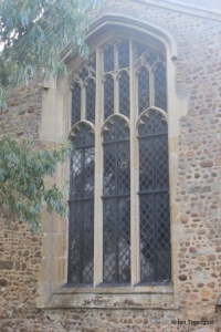 Eaton Socon - St Mary the Virgin. North transept, north window.