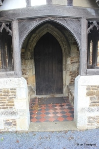 Eggington - St Michael. South doorway.