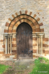 Farndish - St Michael and All Angels. South doorway.
