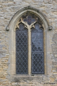 Farndish - St Michael and All Angels. West window.