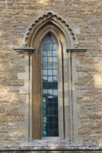 Felmersham - St Mary. Chancel south window.