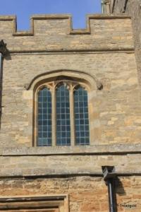 Felmersham - St Mary. Clerestory window.