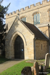 Felmersham - St Mary. South porch.