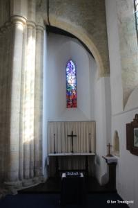 Felmersham - St Mary. South transept, east window internal.