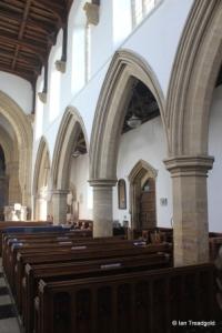 Felmersham - St Mary. South arcade.