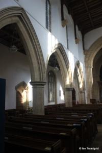 Felmersham - St Mary. North arcade.